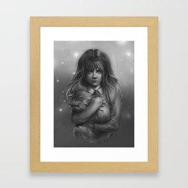 Hermione Framed Art Print
