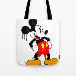 Mickey The Warrior Mouse Tote Bag