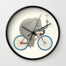 Ride (colour option) Wall Clock