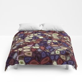 Fractal Gems 01 - Fall Vibrant Comforters