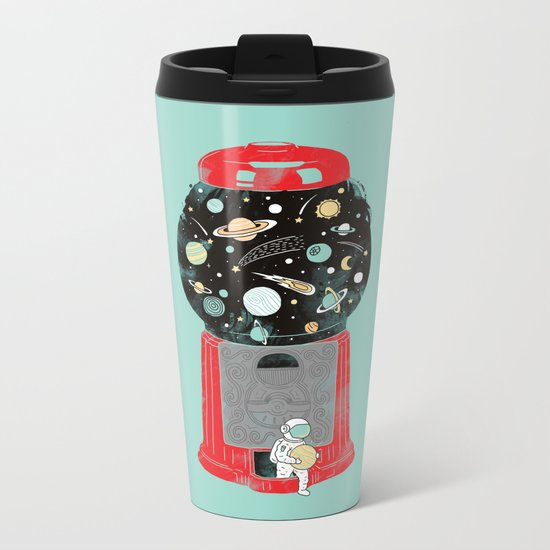 My childhood universe Metal Travel Mug