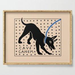 Cave Canem Serving Tray