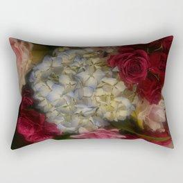 Hydrangea Arrangement II Rectangular Pillow