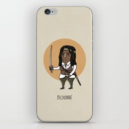 Michonne iPhone Skin