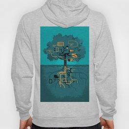 Digital Tree Hoody