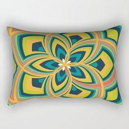 Spiral Rose Pattern C 4/4 Rectangular Pillow