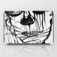 psycho iPad Cases featuring ~psycho by alexisdarkness