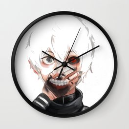 Kaneki Ken Tokyo Ghoul Wall Clock