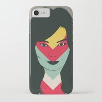 bjork iPhone & iPod Cases featuring BJORK by Mamut