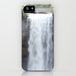 A Day at the Falls iPhone Case