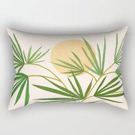 The Good Garden / Desert Plants Illustration Rectangular Pillow