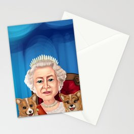 Queen Elizabeth II Stationery Cards