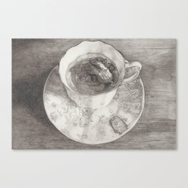 Teacup Octopus Canvas Print