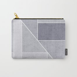 Simple geometric pattern. 3 Carry-All Pouch