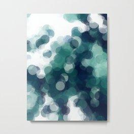 Green Bubbles #Society6 #Art #1 Metal Print