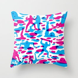 Acids vs. Bases Throw Pillow