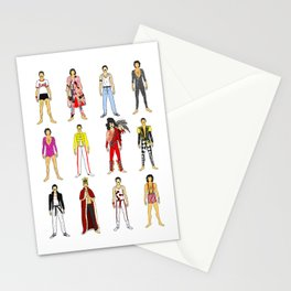 Outfits of Freddie Fashion Stationery Cards