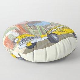 NEW YORK CAB Floor Pillow