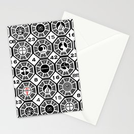 Dharma Station and The Numbers Stationery Cards