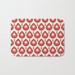 Drops Retro Pink Bath Mat