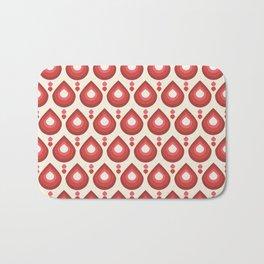 Drops Retro Pink Bath Mat