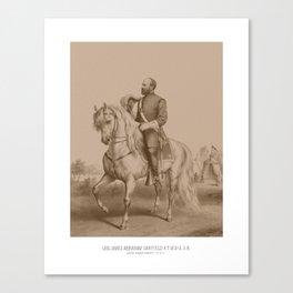General James Garfield -- Civil War Canvas Print