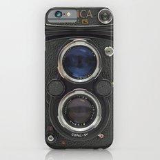 Vintage Camera (Yashica  124 G) Slim Case iPhone 6s