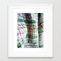 blanket Framed Art Prints featuring BLANKET by JANUARY FROST