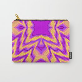 yellow purple Carry-All Pouch