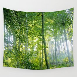 MM - Sunny forest Wall Tapestry