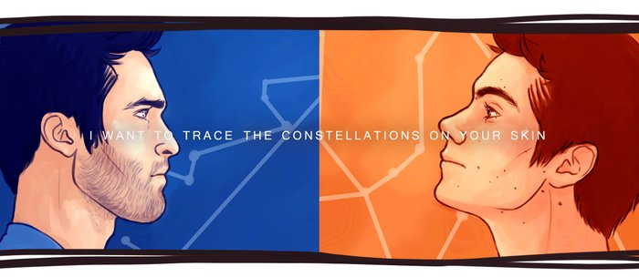 constellations on your skin Coffee Mug