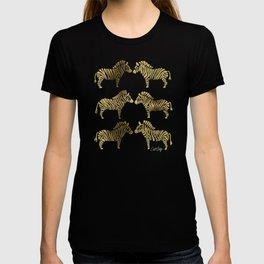 Golden Zebras T-shirt
