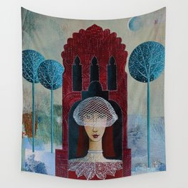 Lonely Bride Wall Tapestry