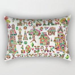 Crystal Hamlet Rectangular Pillow