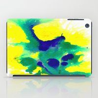 brazil iPad Cases featuring WATERCOLOR BRAZIL by Chrisb Marquez