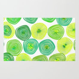 Lemon-Lime Lift Rug