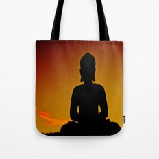 In Buddha's Shadow Tote Bag