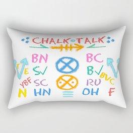 Chalk Talk 101 Rectangular Pillow