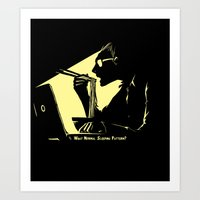 What Normal Sleeping Pattern? Art Print