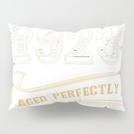 94th-Birthday-Gift-Gold-Vintage-1923-Aged-Perfectly Pillow Sham