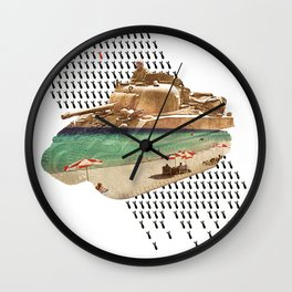 Beach Head Wall Clock
