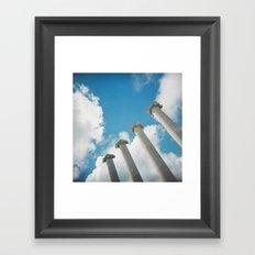 Hello new World Framed Art Print