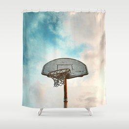 basketball hoop 8 Shower Curtain