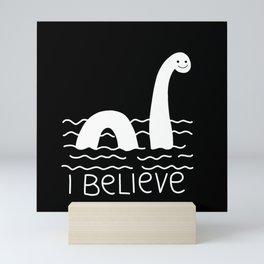 Loch Ness Monster Mini Art Print