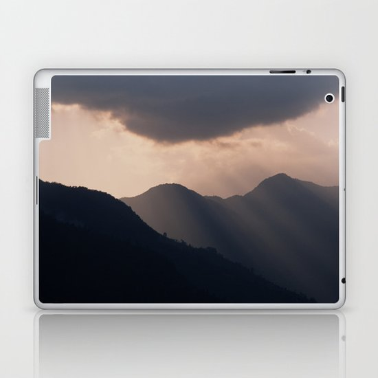 let there be night Laptop & iPad Skin