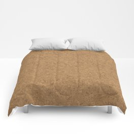 Cork Board Background Comforters