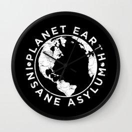 Earth Asylum Wall Clock