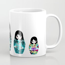 Japanese Matriochka Coffee Mug