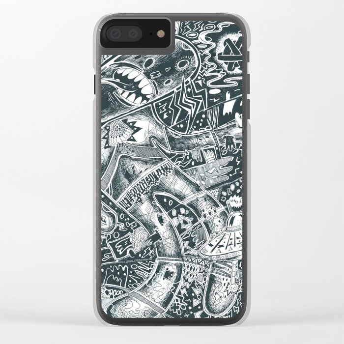 void party Clear iPhone Case