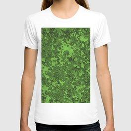 Harlequin Green Hybrid Camo Pattern T-shirt